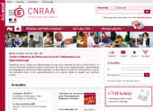 CNRAA page d'accueil