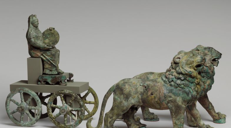 MET.Period:Mid Imperial Date:2nd half of 2nd century A.D. Culture:Roman Medium:Bronze Dimensions:Overall: 12 x 54 3/4in. (30.5 x 139.1cm) Classification:Bronzes