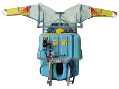 Pulvérisateur porté série aéroconvection
