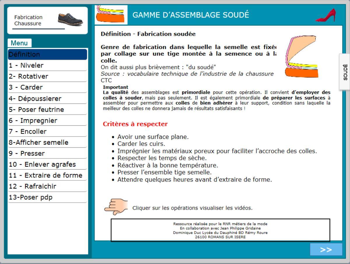 Éduscol De Numérique Sti Soudé Gamme L'assemblage vz644q