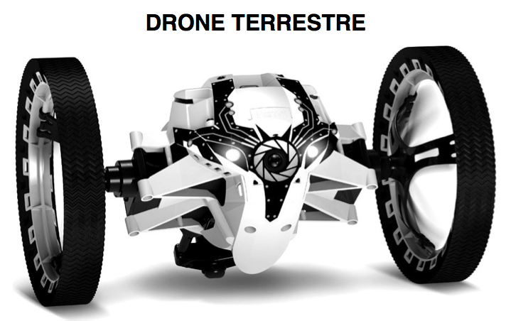 drone terrestre