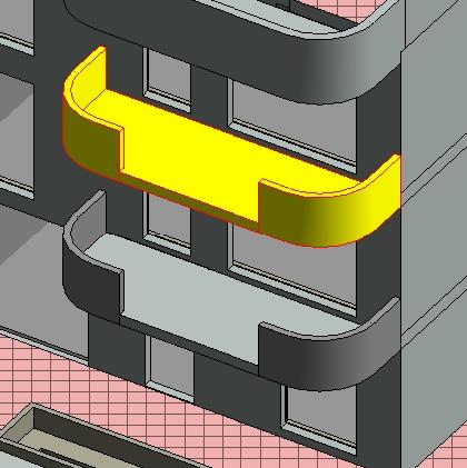 Bim , Réalisation de balcons et validation de modes constructifs