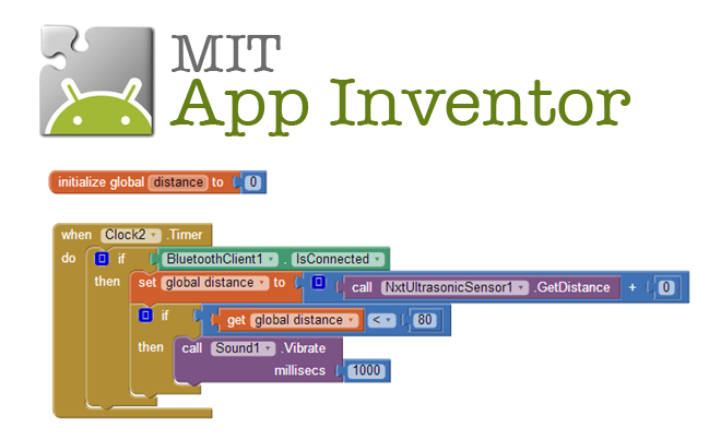 App Inventor : exemples d'IHM Android pour carte Arduino