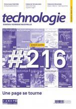 Couverture De Technologie N°216   Ultime Parution CANOPÉ De Technologie
