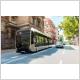 Bus articulé Van Hool de 18m à hydrogène, modèle déployé à Pau