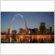 Arc de Saint-Louis, Mississippi, en forme « pattes d'éléphant »