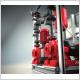 Le pompage de l'eau chaude sanitaire dans un immeuble collectif répond à une demande très variable.