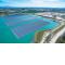 première centrale solaire flottante en France © Akuo Energy