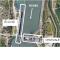 La centrale hydroélectrique et l'écluse d'Avignon