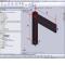 La simulation par éléments finis sous SolidWorks d'un assemblage « coin parfait » entre deux éléments du lit haut