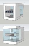 Schéma de principe avant et arrière de la maquette à concevoir et à réaliser