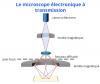 Microscope électronique à transmission