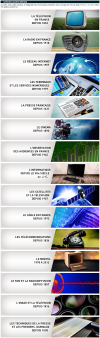 Chronologies proposées des différents médias