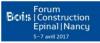 Forum International Bois Construction 2017 - Epinal Nancy