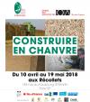 Exposition : Construire en chanvre, du champ au chantier