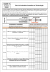 Outil d'aide à l'évaluation formative