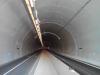 Intérieur du tunnel nord