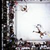 Neil Leifer, Ali-Williams (overhead), 1966 (photographie en vue zénithale)