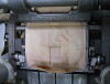 Station d'encollage pour fabrication de sac papier