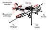 Définition des axes pour un avion