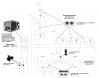 Schéma hydraulique synoptique de l'installation
