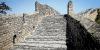 Grande Muraille de Chine, meurtrières et trous le bombre, époque Ming