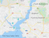 Istanbul et le Bosphore, source captures google Maps mai 2020