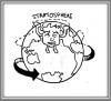 Anomalie de hauteur troposphérique - Tropospheric heigh anomaly