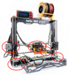 Moteurs pas à pas sur imprimante 3D