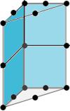 Prisme à 15 noeuds