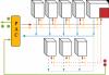 Schéma du réseau de l'installation