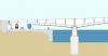 Coupe longitudinale partielle du pont mixte