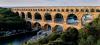 Le pont du Gard, pont aqueduc romain à trois niveaux du Ier siècle