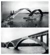Pont Albert-Louppe, Plougastel-Daoulas, portée des arches 186 m