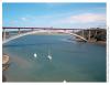 Pont Chateaubriand sur la Rance conçu par Charles Lavigne, Ille-et-Vilaine