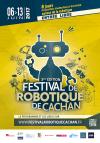 Affiche du festival de robotique de Cachan 2017