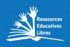 Logo des ressources éducatives libres (REL), créé par l'Unesco