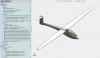 Modèle Solidworks/Meca3D du planeur