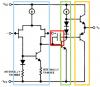Schéma interne du TL081